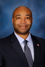 Photograph of  Representative  Justin Slaughter (D)