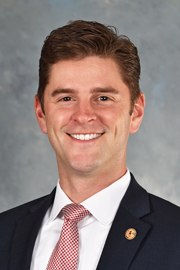 "Photograph of Representative  </span><span class=""heading notranslate"">Ryan Spain (R)"