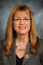 "Photograph of  Senator  </span><span class=""heading notranslate"">Melinda Bush (D)"